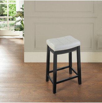 Linon Claridge Gray Bar Stool