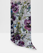 Ted Baker Entangled Enchantment skinny scarf