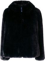 Dondup furry detail coat