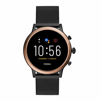 Fossil Women's Touchscreen Connected Smartwatch with Stainless Steel Strap FTW6036