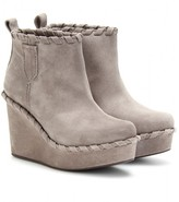 Pedro Garcia KENDRA SUEDE WEDGE ANKLE BOOTS
