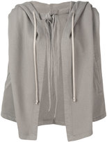 Rick Owens hooded cape