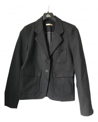 Sessun Black Cotton Jackets