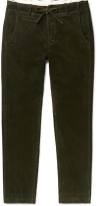 Man 1924 Tomi Tapered Cotton-Corduroy Drawstring Trousers