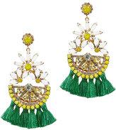 Elizabeth Cole Daisy Lemon Earrings