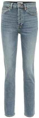 RE/DONE 80s High-Rise Skinny Jeans