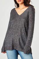 BB Dakota Grey Jackson Sweater