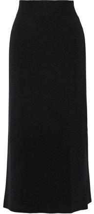 A.L.C. (エーエルシー) - A.l.c. Emmanuelle Stretch Ribbed-Knit Cotton-Blend Midi Skirt
