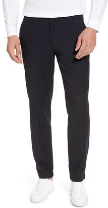 H By Hickey Freeman Hybrid Jogger Flat Front Wool Trousers
