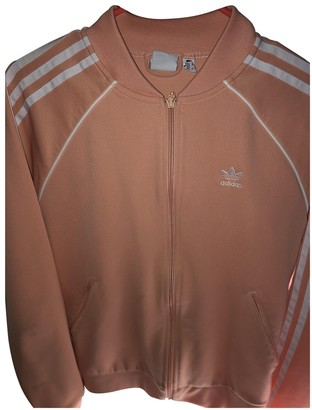 adidas Orange Cotton Jacket for Women