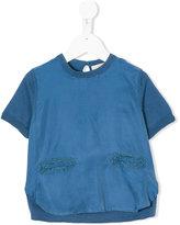 Stella McCartney short-sleeved top - kids - Silk/Cotton/Polyester - 4 yrs