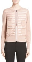 Moncler Women's Coreana Quilted Knit Jacket