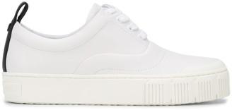 Pierre Hardy Contrast Tab Sneakers
