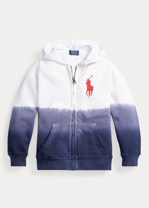 Ralph Lauren Dip-Dyed Cotton Terry Hoodie