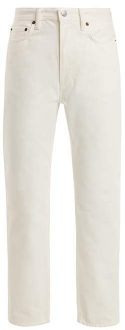 Acne Studios Log straight-leg boyfriend jeans