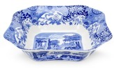 "Spode Blue Italian"" Square Serving Bowl, 9.5"""