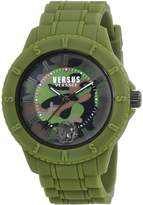 Versus By Versace Women's 'TOKYO R' Quartz Rubber and Silicone Casual Watch, Color: (Model: SOY110016)