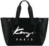 Kenzo Signature tote - women - Cotton/Leather/Nylon/Polyurethane - One Size