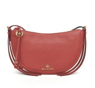 Michael Kors Camden Salmon Pink Crossbody Bag