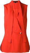 Proenza Schouler sleeveless wrap top - women - Acetate/Viscose - 6