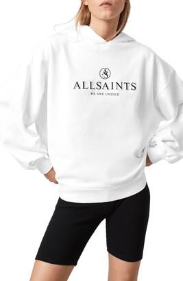AllSaints Jen Unite Cotton Hoodie