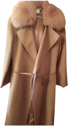 Georges Rech Beige Wool Coats