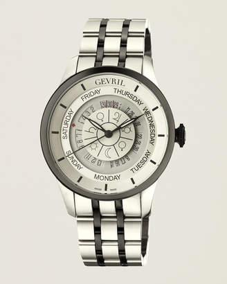 Gevril 2002B Columbus Circle Two-Tone Watch