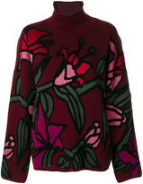 Christian Wijnants lily embroidered sweater
