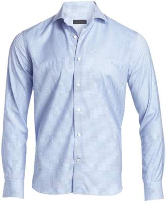 Saks Fifth Avenue Check Virgin Wool Woven Shirt