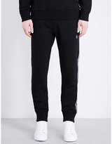 Lanvin Grosgrain-trimmed Cotton-jersey Jogging Bottoms