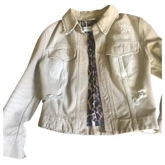 Dolce & Gabbana Beige Denim - Jeans Jacket for Women Vintage