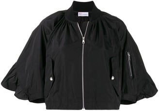 RED Valentino wide sleeves bomber jacket