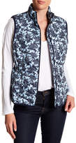Joe Fresh Floral Quilted Vest