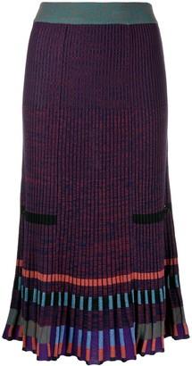 Kenzo Ribbed Midi Skirt