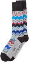 Alfani Men's Chevron Stripe Socks, Only at Macy's