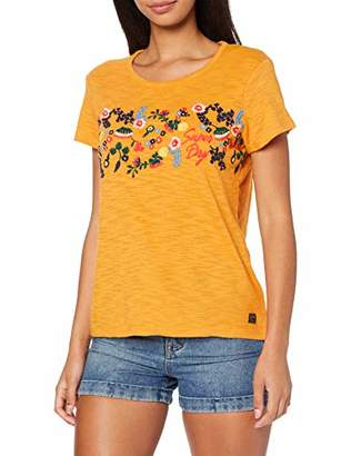 Superdry Women's Lexi Embroidered Tee T-Shirt, (Size: )