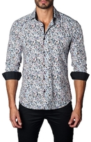 Jared Lang Color Dots Cotton Sportshirt