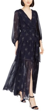 Eliza J Glitter-Star Maxi Dress