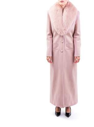 Blumarine Virgin Wool Blend Coat