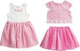 Youngland Young Land Girls Skirt Set and Dress