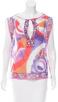Emilio Pucci Printed Sleeveless Top