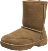 BearPaw Meadow Shearling Boot (Little Kid/Big Kid),Hickory