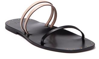 Joie Bantis Triple Vamp Strap Slide Sandal