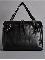 Autograph Leather Eyelet Tote Bag