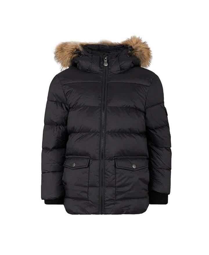Pyrenex Authentic Matte Fur Trim Down Coat