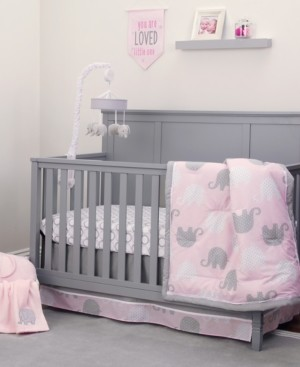 NoJo Elephant Dream 8-Piece Crib Bedding Set Bedding