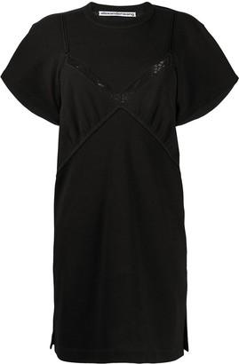 Alexander Wang jersey lingerie dress