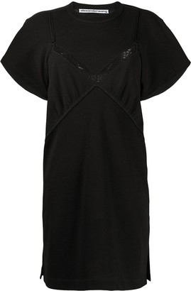 Alexander Wang Jersey Lingerie Dress