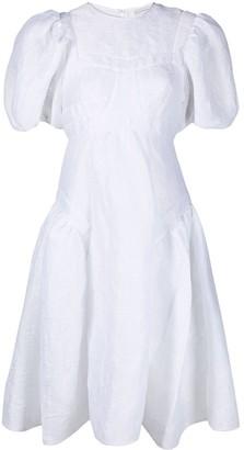 Cecilie Bahnsen Panelled Design Flared Dress
