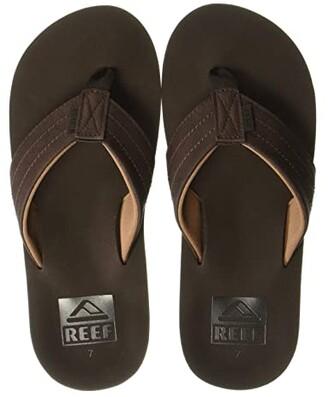 Reef Twinpin Lux (Brown) Men's Sandals